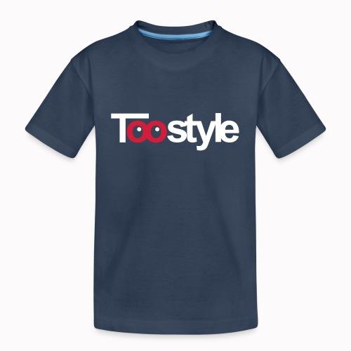Toostyle white - Maglietta ecologica premium per ragazzi