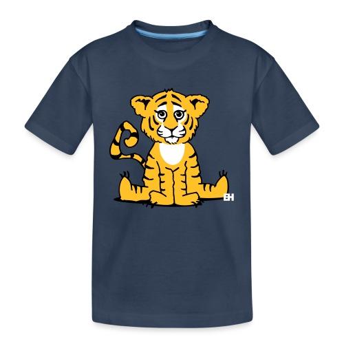 Tiger cub - Teenager Premium Organic T-Shirt