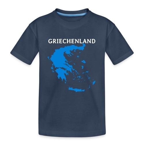 Griechenland - Teenager Premium Bio T-Shirt