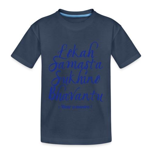 LOKAH SAMASTA - Maglietta ecologica premium per ragazzi