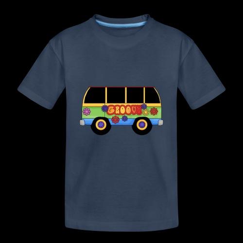 GROOVY BUS - Teenager Premium Organic T-Shirt