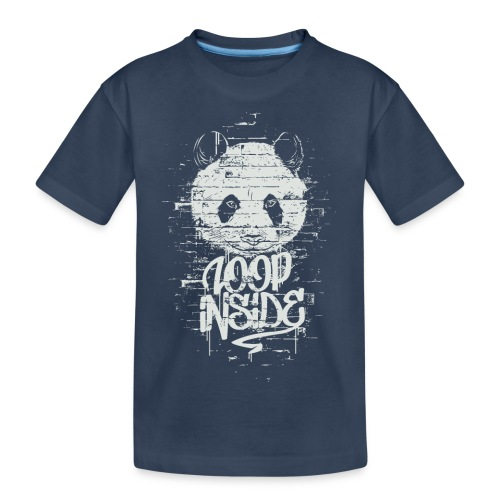 Graffiti Panda Inside - Teenager Premium Bio T-Shirt