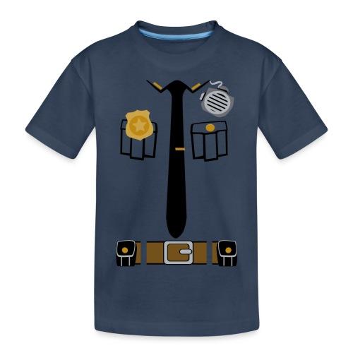 Police Patrol Costume - Teenager Premium Organic T-Shirt