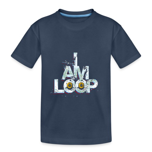 I AM LOOP - Teenager Premium Bio T-Shirt