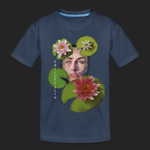 Friluftsliv L'art de se connecter avec la nature - T-shirt bio Premium Ado
