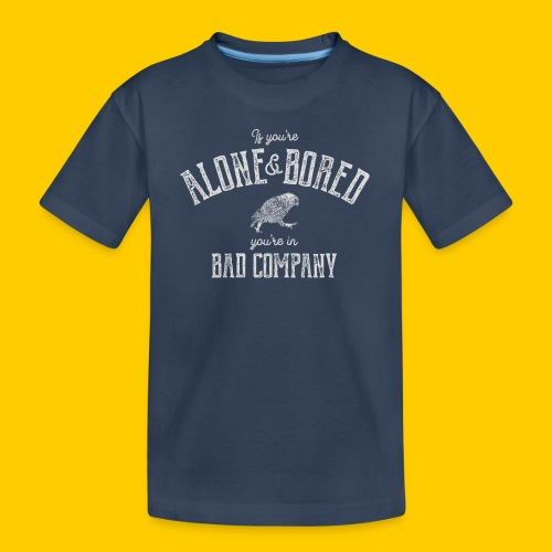 Alone and bored - Ekologisk premium-T-shirt tonåring