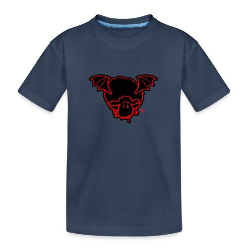 Vampire Sheep (red) - Teenager Premium Bio T-Shirt