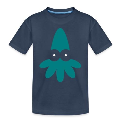 Squid Vector - choose design colours - Teenager Premium Organic T-Shirt