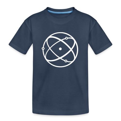 Atom, weiß - Teenager Premium Bio T-Shirt
