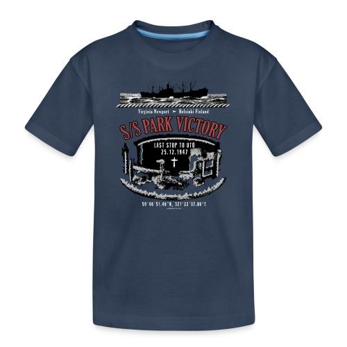 PARK VICTORY LAIVA - Tekstiilit ja lahjatuotteet - Teinien premium luomu-t-paita