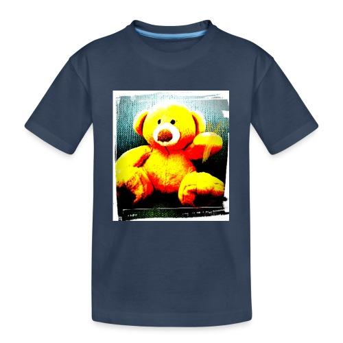 Teddy - Teenager premium biologisch T-shirt