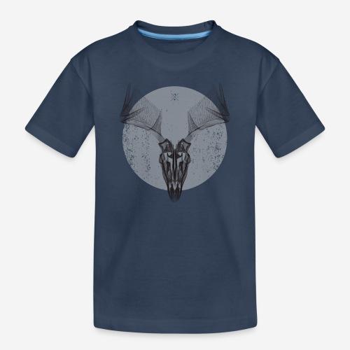 Hirschgeweih - Teenager Premium Bio T-Shirt