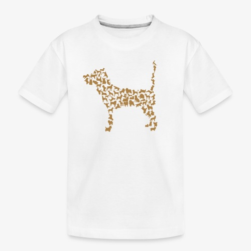 Hunde Kollage - Teenager Premium Bio T-Shirt