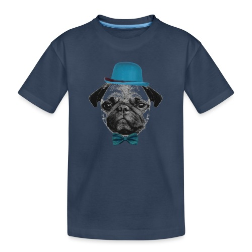 Mops Puppy - Teenager Premium Bio T-Shirt