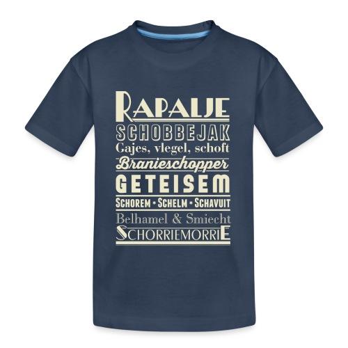 Rapalje - Teenager premium biologisch T-shirt