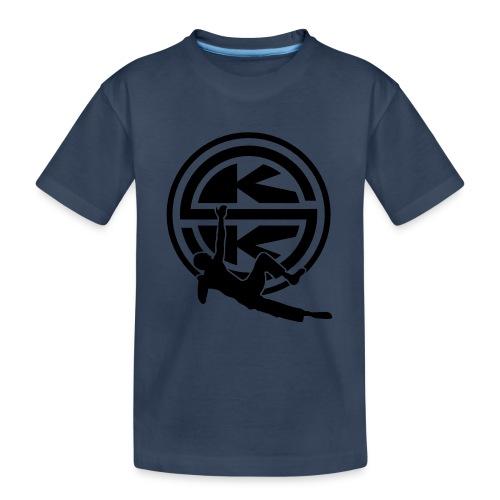 SKK_shield - Ekologisk premium-T-shirt tonåring