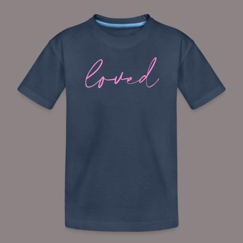 loved rosa - Teenager Premium Bio T-Shirt