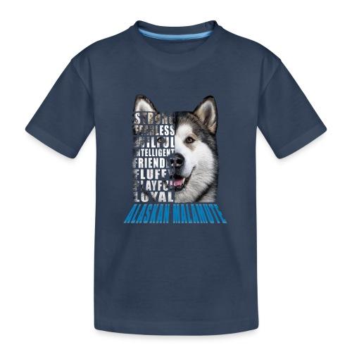 Alaskan Blue - Teenager Premium Organic T-Shirt