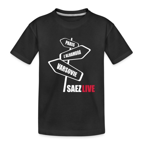 Varsovie (version light, par parek) - T-shirt bio Premium Ado