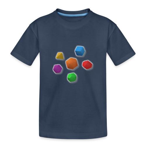 PolyDicePin - Teenager Premium Organic T-Shirt