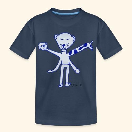 LeniT Teddy With a Twist - Teinien premium luomu-t-paita