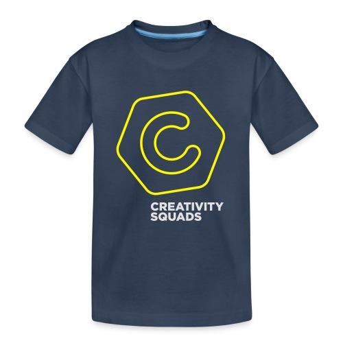 CreativitySquads 002 - Teinien premium luomu-t-paita