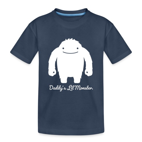 Daddys Lil Monster - Teenager Premium Bio T-Shirt