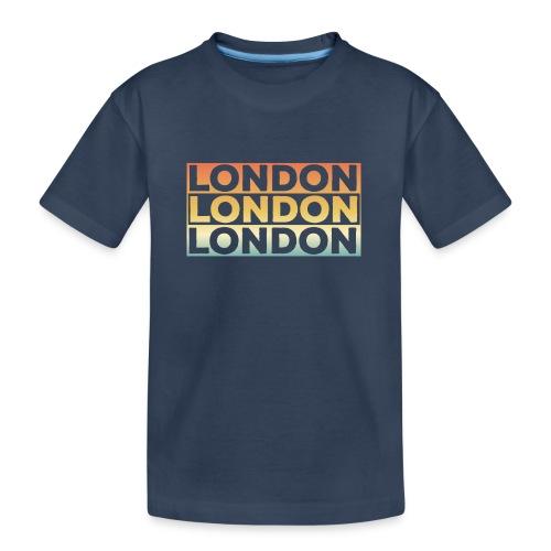 Vintage London Souvenir - Retro SehnsuchtLondon - Teenager Premium Bio T-Shirt