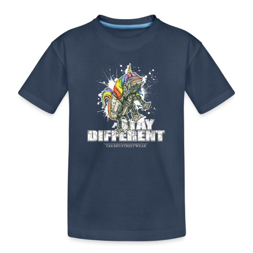 Stay Different - Imperial Unicorn - Teenager Premium Bio T-Shirt