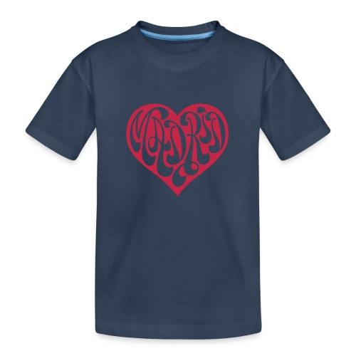 MADRID EN MI CORAZÓN - Camiseta orgánica premium adolescente