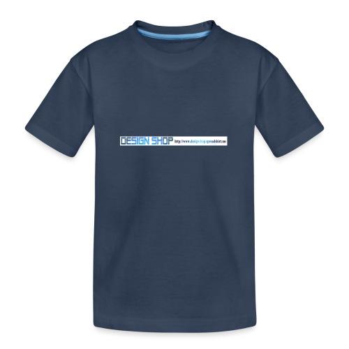 ny logo lang - Premium økologisk T-skjorte for tenåringer