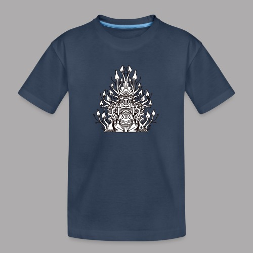 Shroomy man black - Teenager Premium Organic T-Shirt
