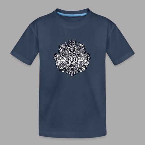 xibalba black - Teenager Premium Organic T-Shirt
