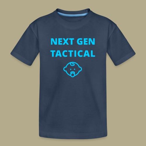Tactical Baby Boy - Teenager premium biologisch T-shirt