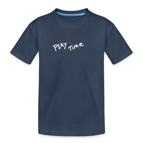 Play Time Tshirt - Teenager Premium Organic T-Shirt