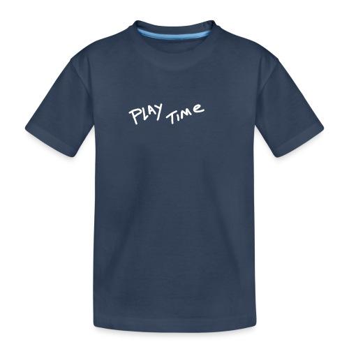 Play Time Tshirt - Teenager Premium Organic T-Shirt
