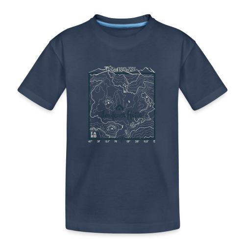 Laufener Hütte im Tennengebirge - Green - Teenager Premium Organic T-Shirt