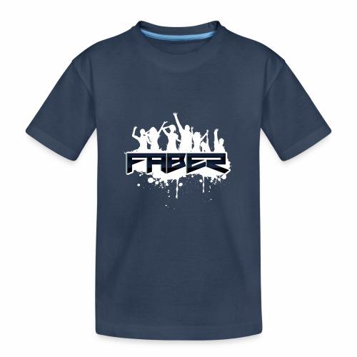 Faber - Teenager premium biologisch T-shirt