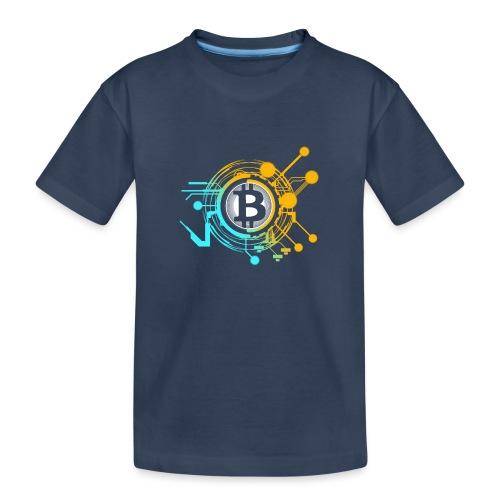 Bitcoin 2 - Teenager Premium Bio T-Shirt
