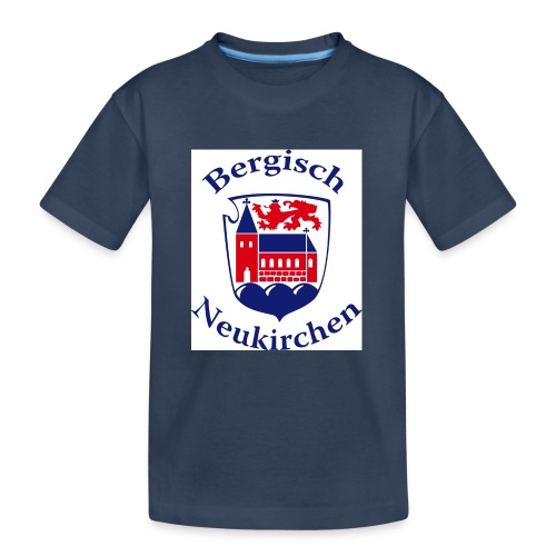 Wappen klein - Teenager Premium Bio T-Shirt