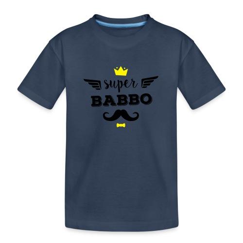 Super Babbo - Maglietta ecologica premium per ragazzi