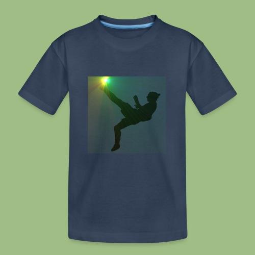Ibra bicicleta - Ekologisk premium-T-shirt tonåring