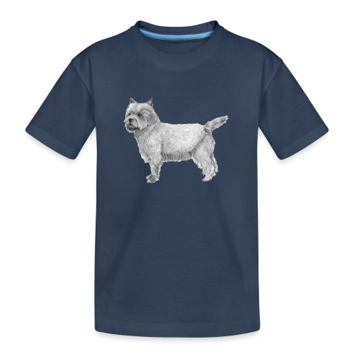 cairn terrier - Teenager premium T-shirt økologisk