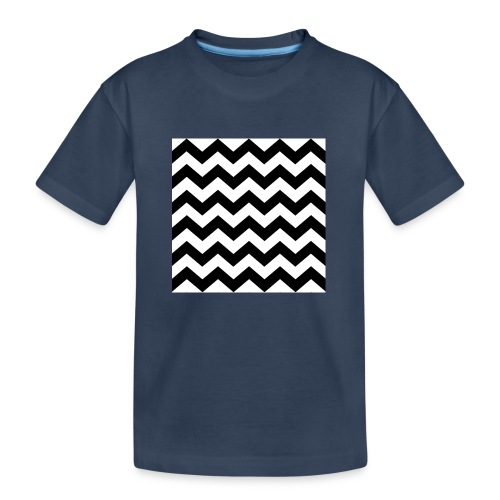 zigzag png - T-shirt bio Premium Ado