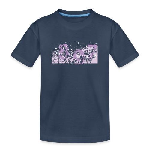 pink digital theme 897 - Ekologiczna koszulka młodzieżowa Premium