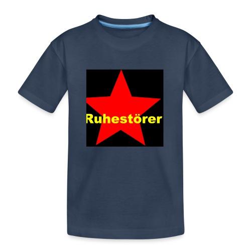 Ruhestörer - Teenager Premium Bio T-Shirt