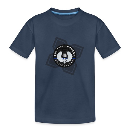TFS Badge Black - T-shirt bio Premium Ado