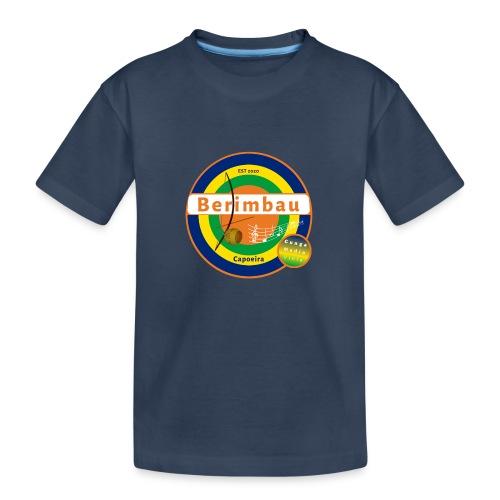 Berimbau 27 - Teenager premium biologisch T-shirt