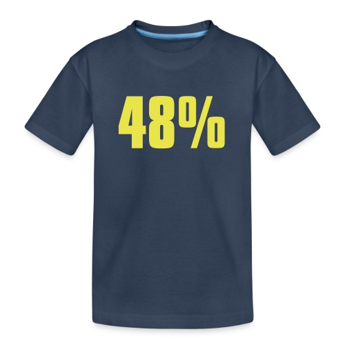 48% - Teenager Premium Organic T-Shirt