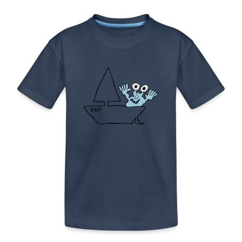 Segelmonster Sylt - Teenager Premium Bio T-Shirt